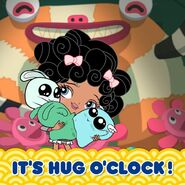 Baby It's hug o'clock
