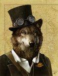 File:SteamWolf SteamPunk by SpamDragon.jpg