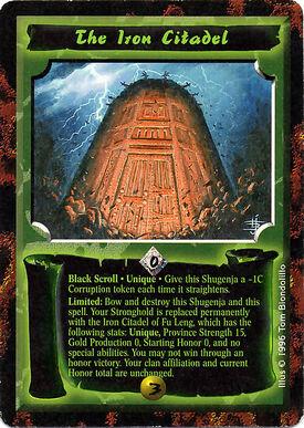 The Iron Citadel-card
