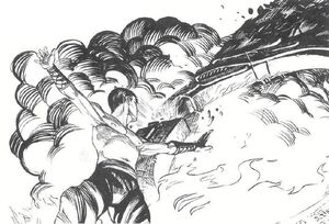 Hochiu sealing Oblivion's Gate