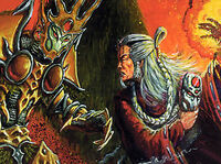 Nikushimi confronts Sezaru