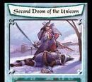 Second Doom of the Unicorn/card