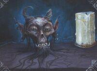 Mummified Jinn Skull