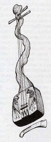 Biwa of Kakita