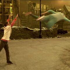 Leo throws Adam