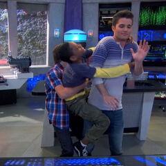 Chase pulls Leo off of Adam