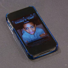 Perry's phone when Donald calls her