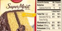 Yellow Cake Mix Substitute