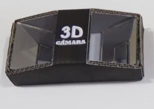 Cámara de hacer películas y videos en 3D