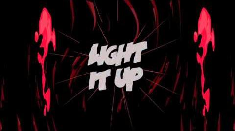 Major Lazer - Light It Up (feat. Nyla & Fuse ODG) -Remix- (Official Lyric Video)