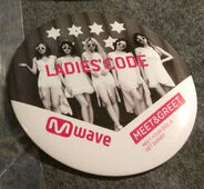 Badge kiss kiss mwave