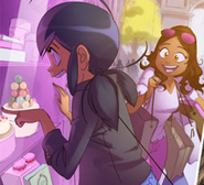 Marinette and Alya Bakery early design