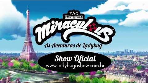 Miraculous Ladybug musical Brazil