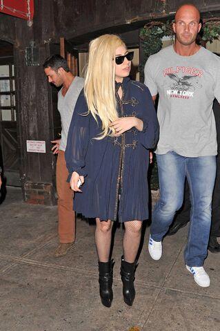 File:7-22-12 Leaving Joanne Trattoria Restaurant in NYC 001.jpg