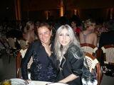 Miuccia Prada and Lady Gaga at Met Gala 2010