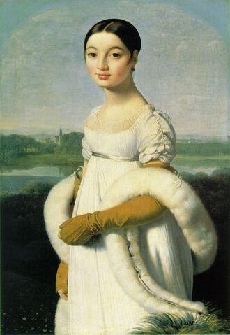 File:Mademoiselle Caroline Rivière by Jean Auguste Dominique Ingres.jpg