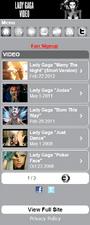 M.LadyGaga.com - Video