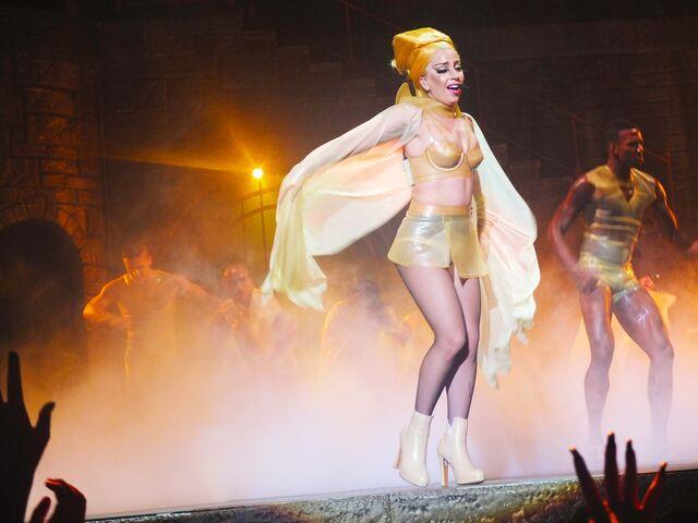 File:The Born This Way Ball Tour Black Jesus Amen Fashion 007.jpg