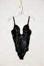 Zaldy Goco Black Bodysuit