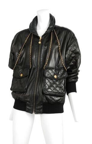 File:Chanel - Leather bomber with chains.jpg