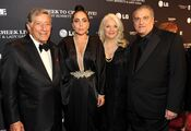 7-28-14 At ''Cheek to Cheek Live! - Press Room in NYC 004