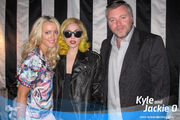 3-18-10 2day FM'S Kyle and Jackie O - Backstage at Syndey Entertainment Centre 001