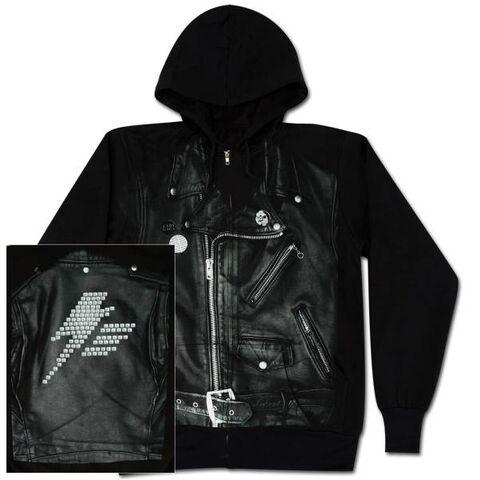 File:Leather Jacket Zip Hoodie.jpg