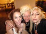 7-11-12 Lady Gaga, Lindsay Lohan, Ellen Von Unwerth 001