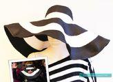 Princess Charlotte Monster Strip Floppy Hat