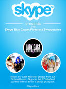 Skype Ball Blue carpet