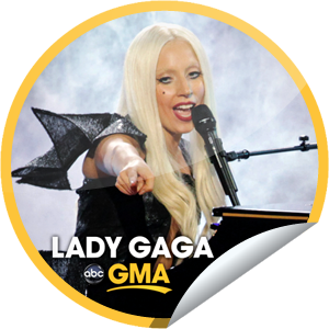 File:GetGlue Stickers - Lady Gaga on GMA on November 22, 2011.png