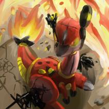 Blockade burn