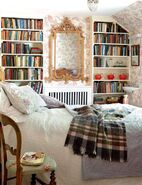 Bedrooms-for-book-lovers-retro-delight