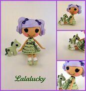 Lalalucky custom mini lalaloopsy by hannaliten-d4gnnhm