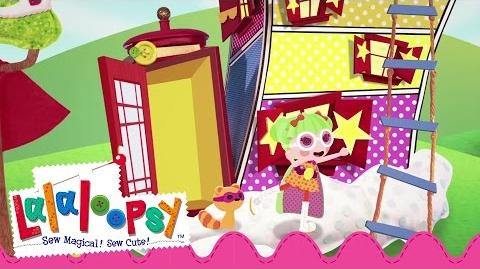 Dyna Might and Raccoon Go Off to Save the Day! Lalaloopsy