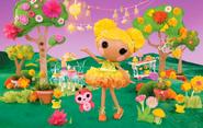 Mari Golden Petals full poster