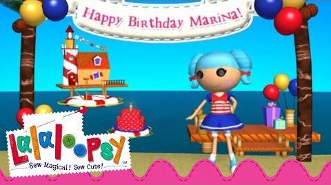 Marina Anchors Birthday Video Lalaloopsy