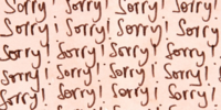 A Sincere Apology