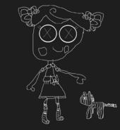 Trace e doodles fanart