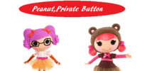 Peanut, Private Button