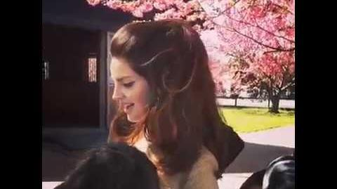 Lana Del Rey by Steven Klein for V Magazine (Behind the Scenes 3)