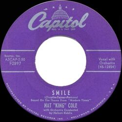 Smile-Nat King Cole