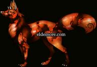 Utsuri Koi Prong Fox