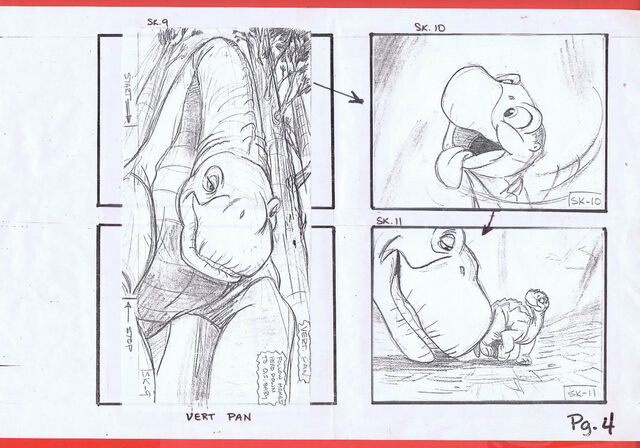 File:The Land Before Time 1988 Production Storyboard Copy Page 4 DON BLUTH -SH004.jpg