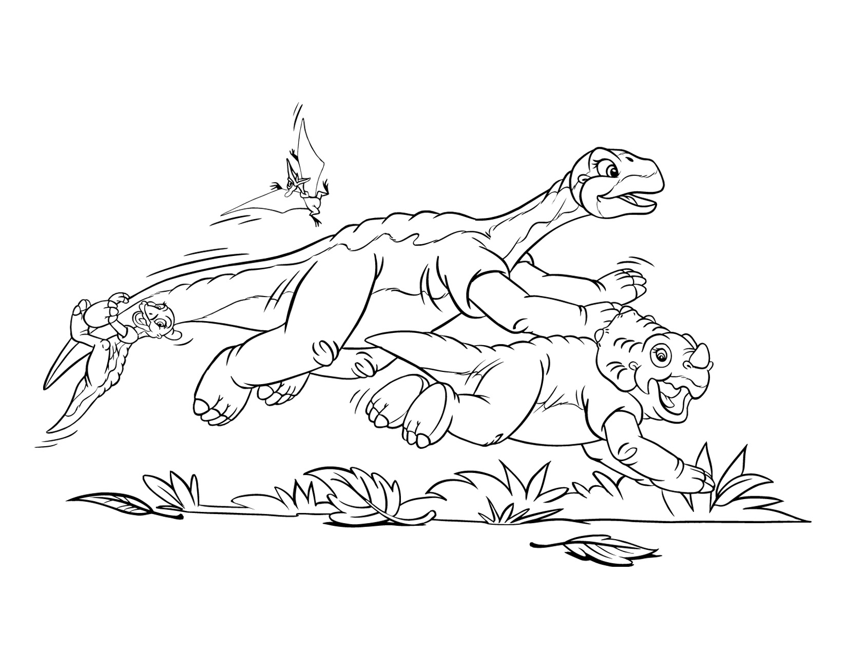 Land Before Time movie coloring pages Land Before Time Wiki
