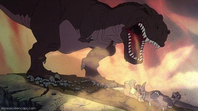 File:Tyrannosaurus growling.jpg