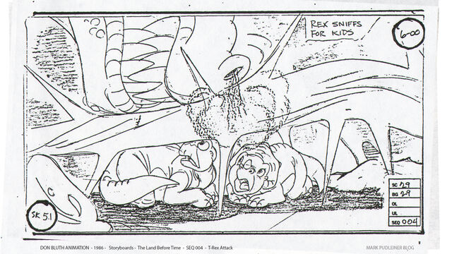 File:Don Bluth Storyboards Land Before Time 051.jpg