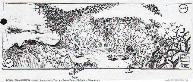 File:Don Bluth Storyboards Land Before Time 041.jpg