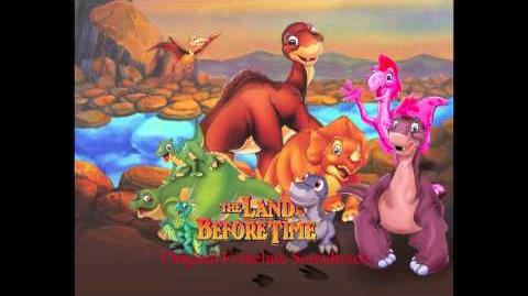 The Land Before Time Original Franchise Soundtrack - A Sharptooth That Swims?