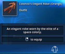 Colonists-elegant-robe-orange-tt